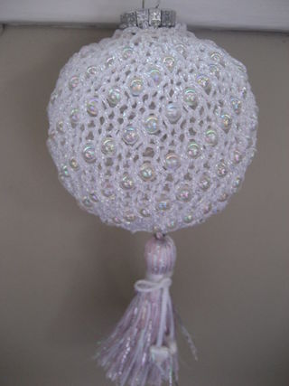 Elegant Beaded Ornament 003